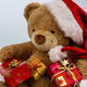 teddy bear with christmas gifts - PhotoDune Item for Sale