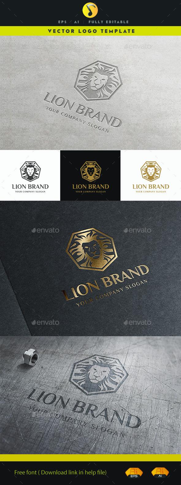 GraphicRiver Lion Brand 11462145