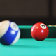 Blow on a Billiard Ball Closeup - VideoHive Item for Sale