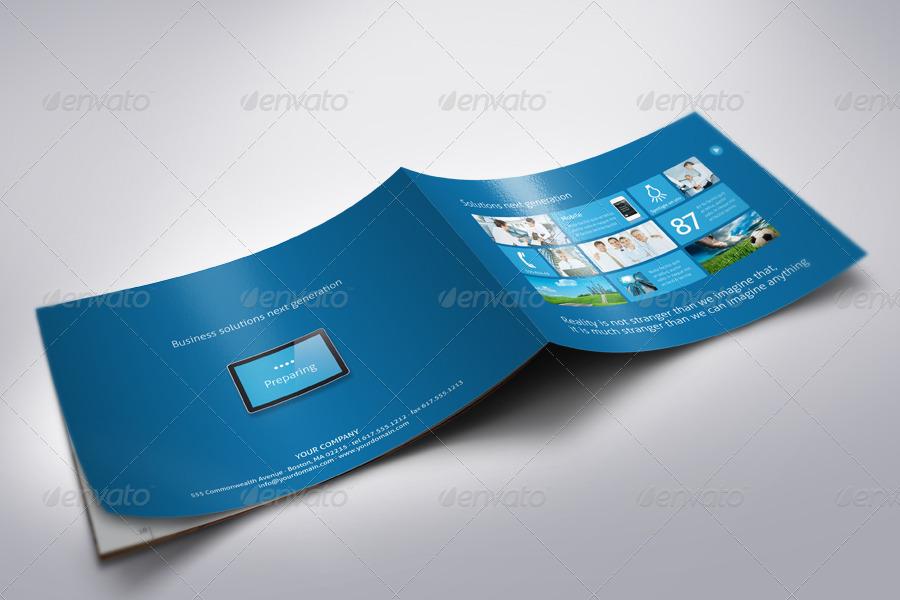 Metro I – 20 Page horizontal Sales Brochure