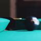 Man Rolls the Black Billiard Ball - VideoHive Item for Sale