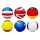Golf Balls Set with Flags  - GraphicRiver Item for Sale