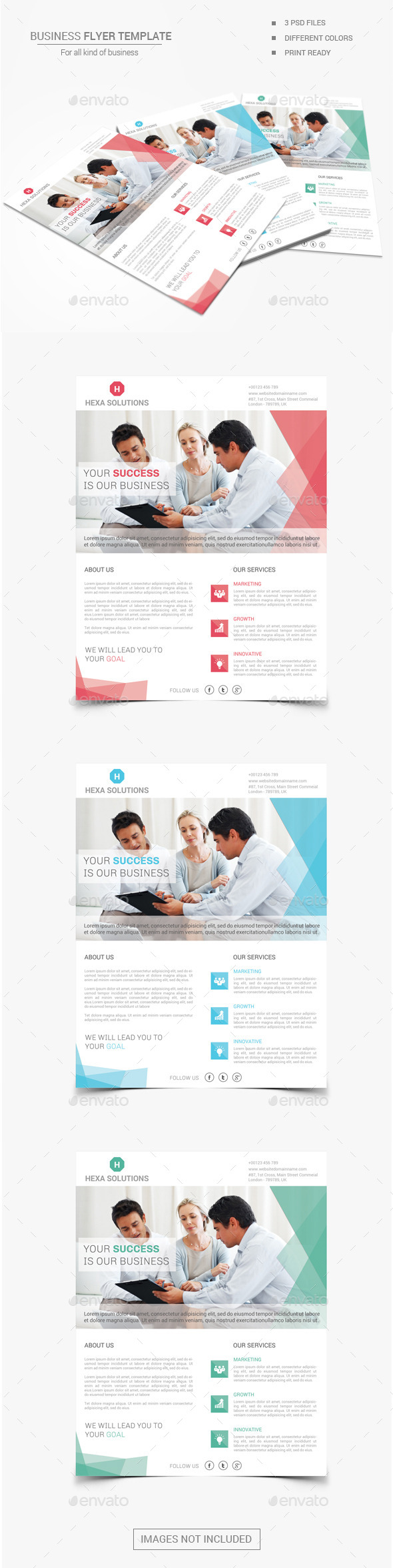 GraphicRiver Business Flyer 03 11463542