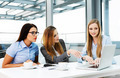 Businesswomen sitting in a meeting room - PhotoDune Item for Sale
