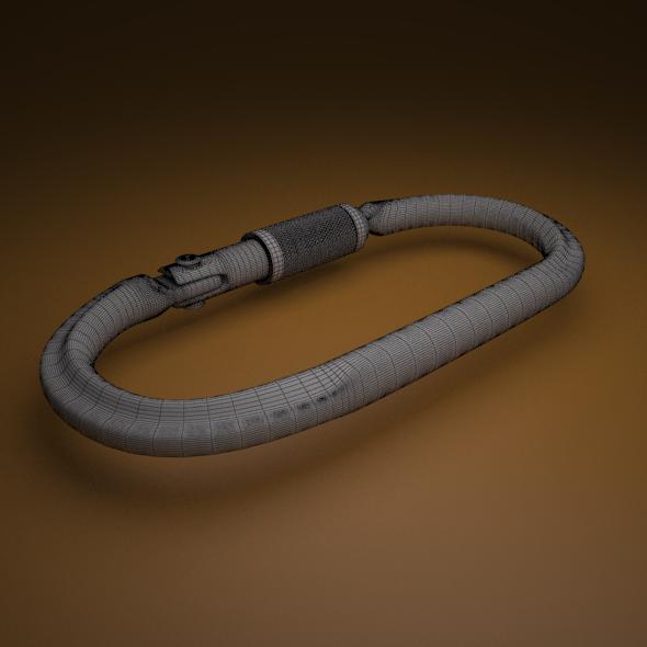 3DOcean carabiner 11464806