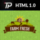 Farm Fresh - Organic Products HTML Template - ThemeForest Item for Sale