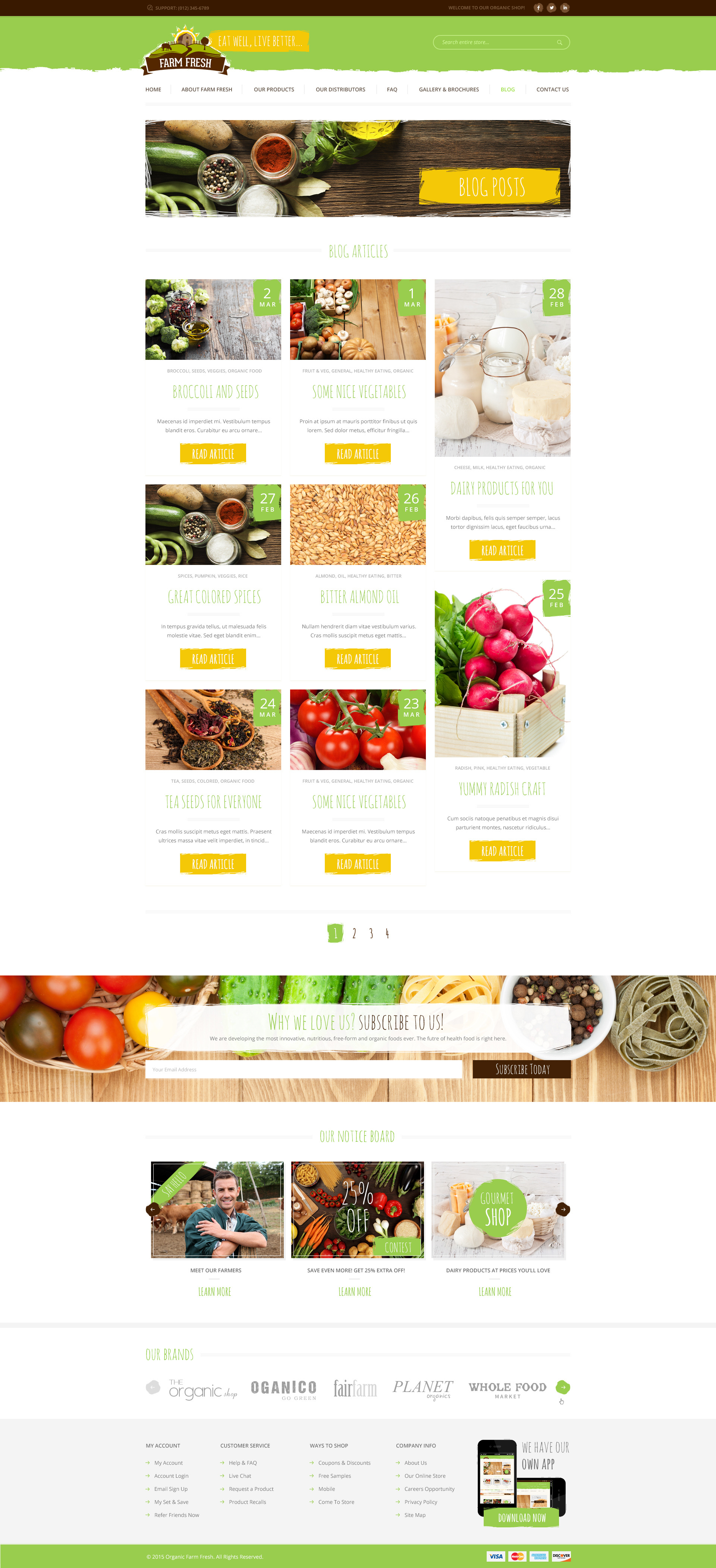 farm fresh organic products html template by themeplayers farm fresh organic products html template