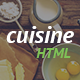 Cuisine - Restaurant HTML Template - Food Retail