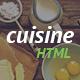 Cuisine - Restaurant HTML Template