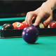 Man Puts Billiard Balls - VideoHive Item for Sale