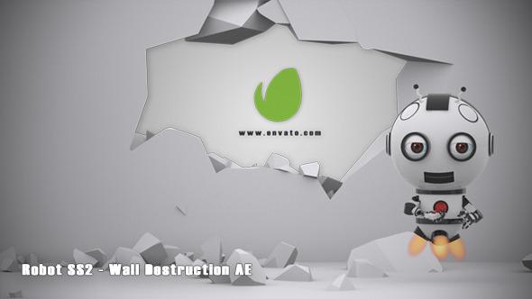 Robot SS2 Wall Destruction AE