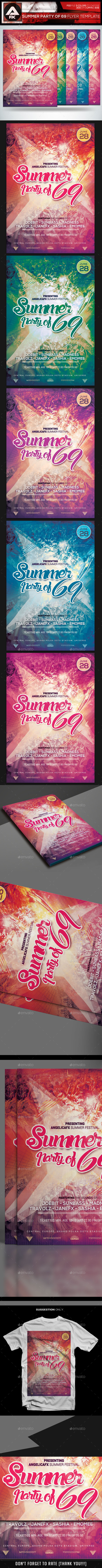 GraphicRiver Summer Party of 69 11465761
