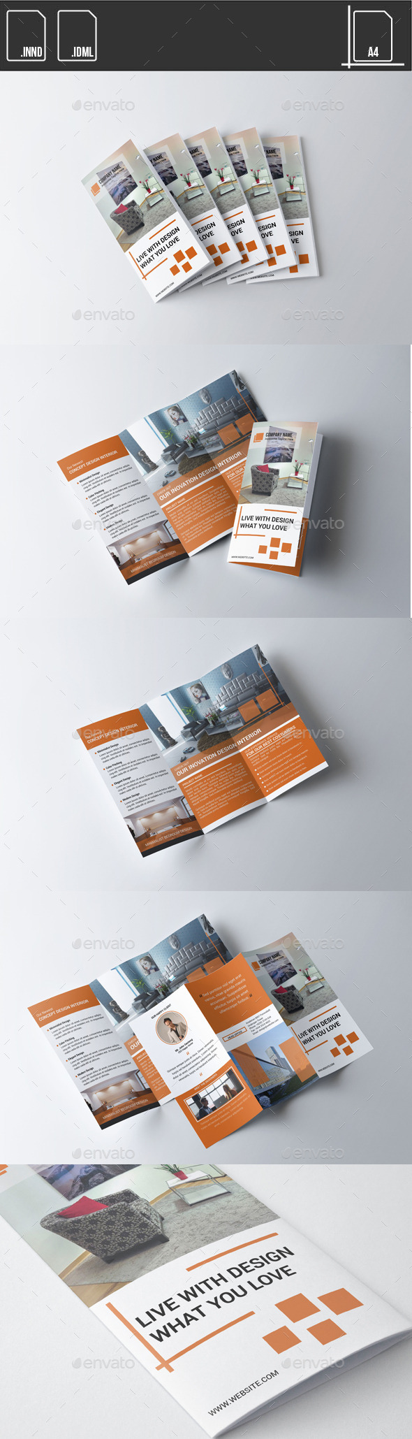 GraphicRiver Brochure Trifold Design Interior 11466082