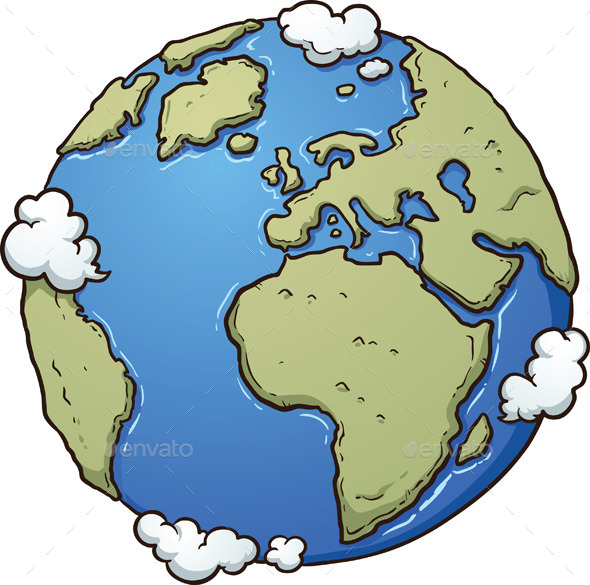 GraphicRiver Cartoon Earth 11466101