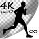 Silhouette Man Running - VideoHive Item for Sale