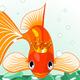Goldfish in the Aquarium - GraphicRiver Item for Sale