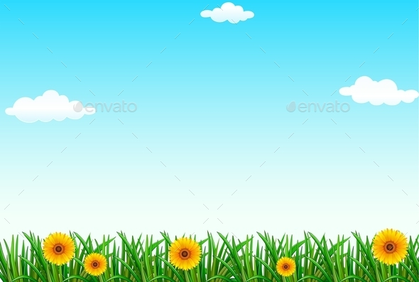 GraphicRiver A Clear Blue Sky 11467048