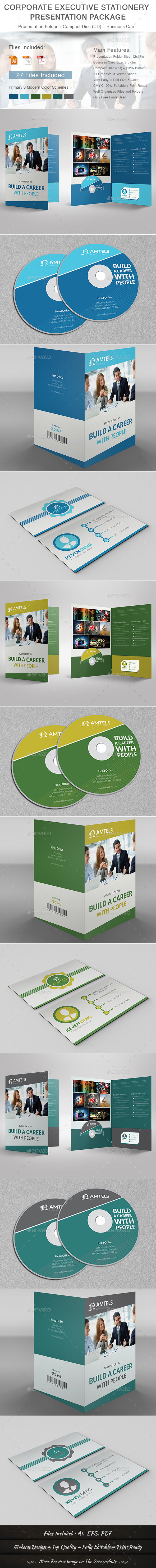 GraphicRiver Corporate Executive Stationery Presentation Packag 11467151