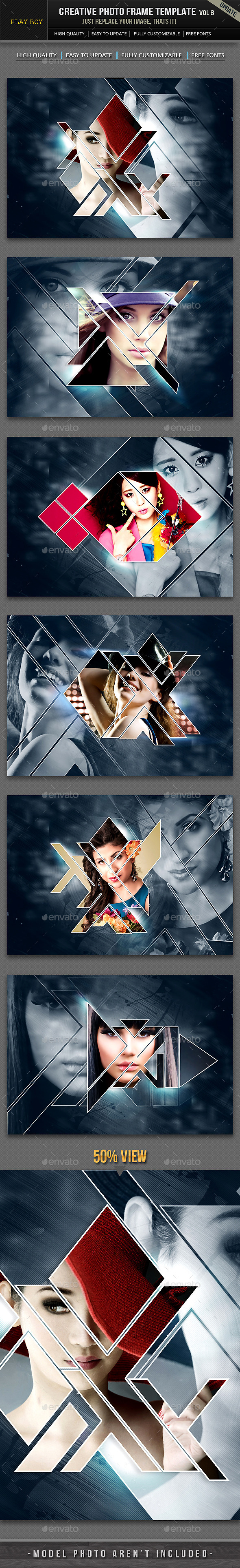 GraphicRiver Creative Photo Frame Template 11467324