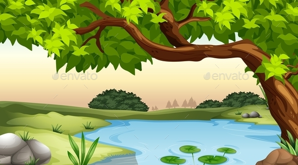 GraphicRiver Pond 11467668