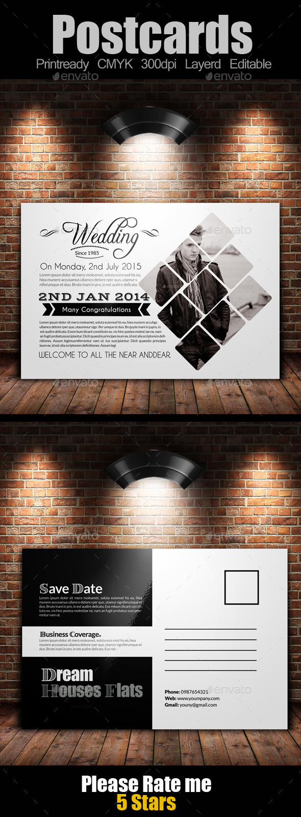 GraphicRiver Multi Use Business Post Cards Template 11467758