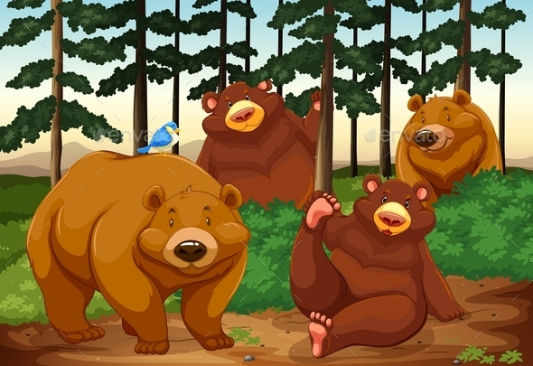 GraphicRiver Bears 11468158