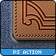 Leather Badge Generator - Photoshop Actions - GraphicRiver Item for Sale