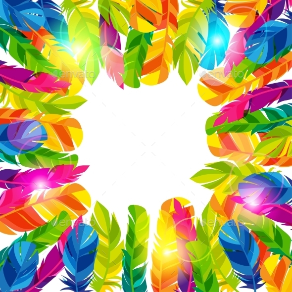 GraphicRiver Colorful Background With Bright Abstract 11468282