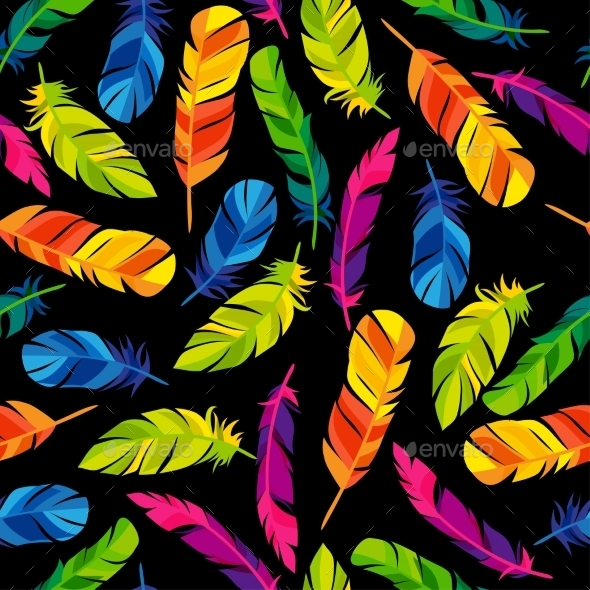 GraphicRiver Colorful Seamless Pattern With Bright Abstract 11468290