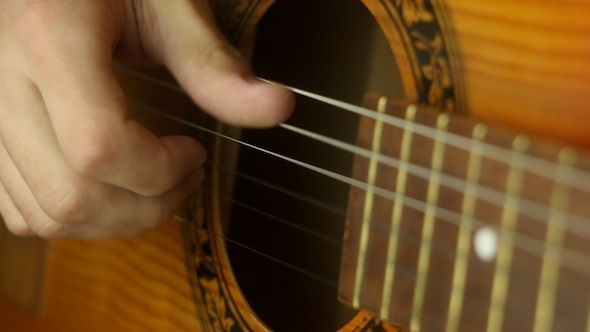 VideoHive Playing Guitar 3 11468326
