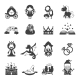 Fairy Tale Black Set - GraphicRiver Item for Sale