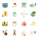 Charity Icons Flat Set - GraphicRiver Item for Sale