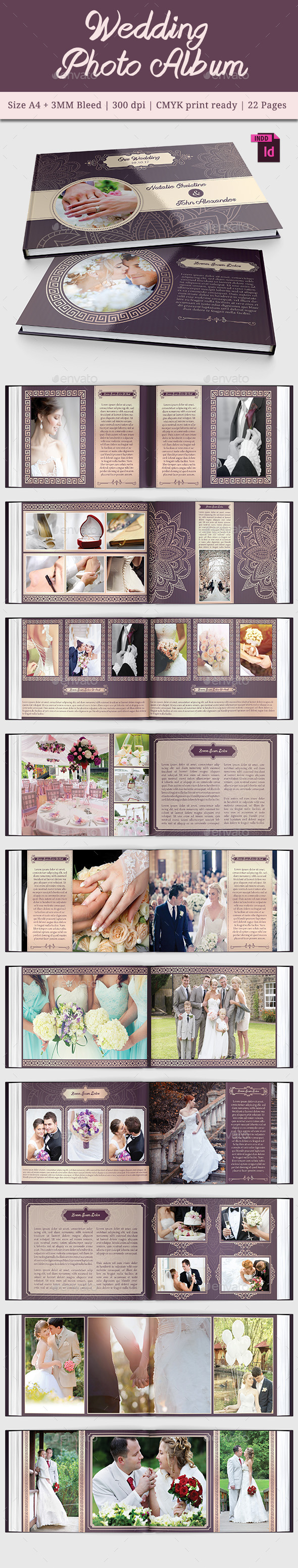 GraphicRiver Wedding Photo Album Vol 2 11468532