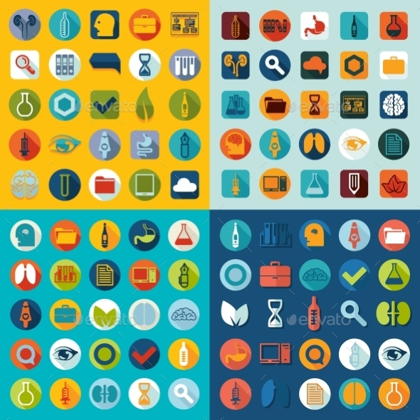 GraphicRiver Set Of Medical Icons 11468546