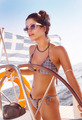 Beautiful girl driving sailboat - PhotoDune Item for Sale