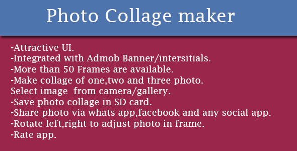 CodeCanyon Photo Collage Maker 11468678
