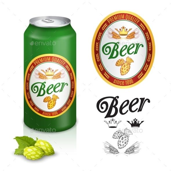 GraphicRiver Premium Beer Label Design 11468705
