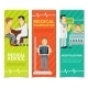 Medical Examination Banners - GraphicRiver Item for Sale