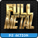 Full Metal Package 3D - Photoshop Actions - GraphicRiver Item for Sale