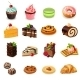 Cakes Icons Set - GraphicRiver Item for Sale