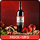 Sapore Tipico - Red Wine Branding Mock-ups - GraphicRiver Item for Sale