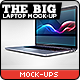 The Big Laptop Mock-up - GraphicRiver Item for Sale