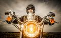 Biker racing on the road - PhotoDune Item for Sale