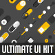 Ultimate UI Kit +120 Elements - GraphicRiver Item for Sale