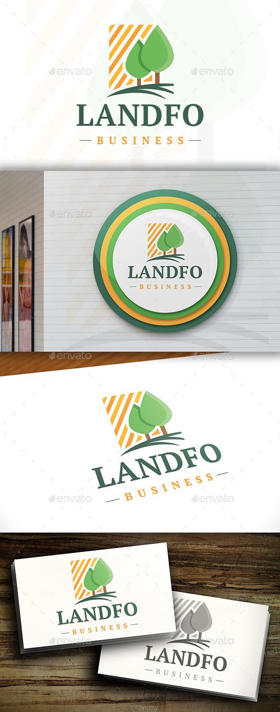 GraphicRiver Landscape Logo Template 11468935