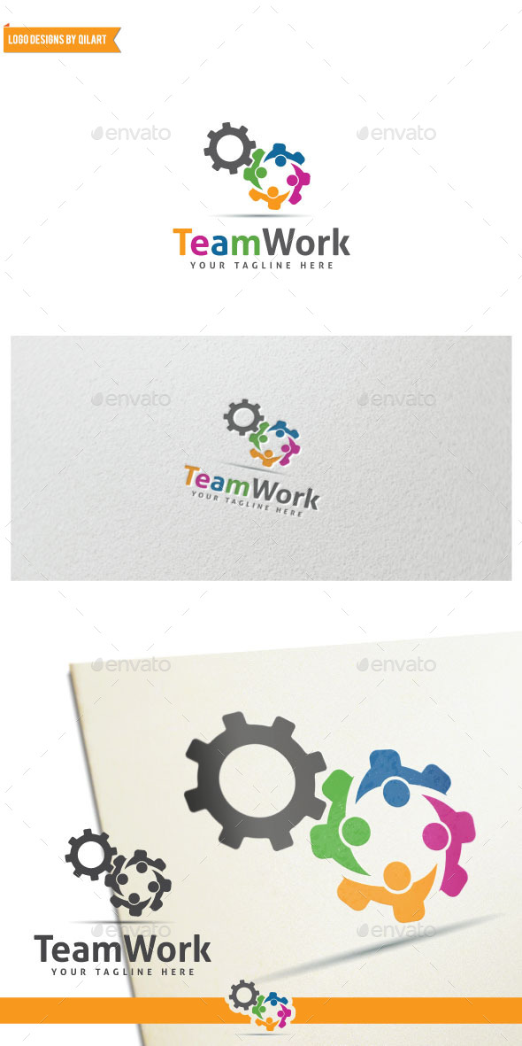 GraphicRiver TeamWork 11468940