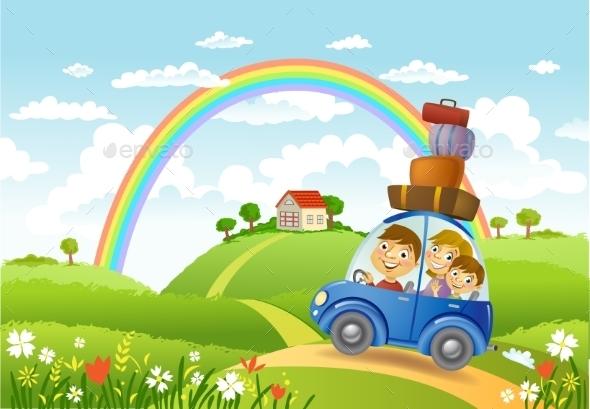 GraphicRiver Family Summer Adventure 11469054