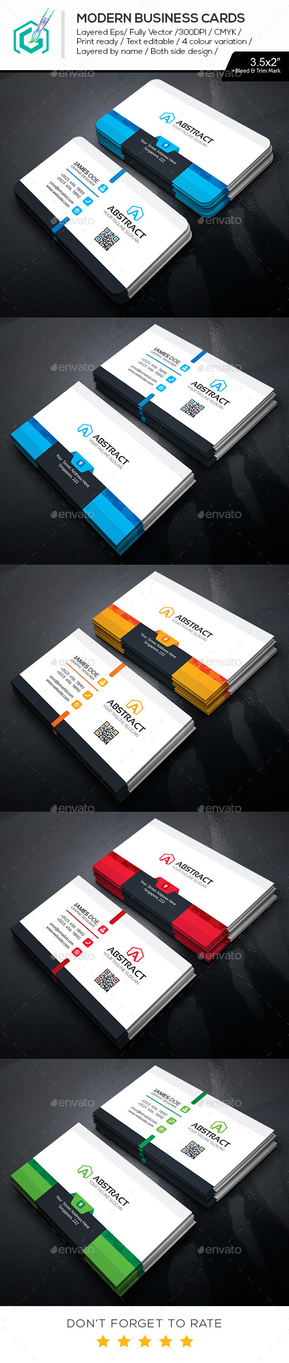 GraphicRiver Modern Business Cards 11469211