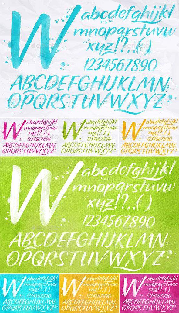 GraphicRiver Modern Color Alphabet 11469494