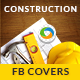 Construction Facebook Cover - GraphicRiver Item for Sale